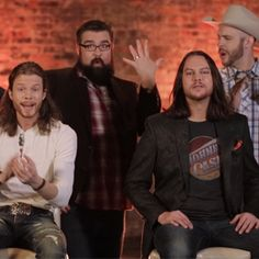 exclusive you have to watch this hilarious country fied pop medley from home free