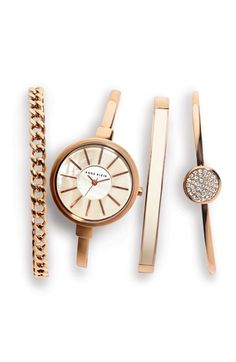 The ultimate rose gold stacked wrist.