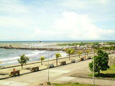 Dipolog City Boulevard Philippine Holidays, Mindanao, Davao, Philippines, Sidewalk, City, Beach, Water, Outdoor