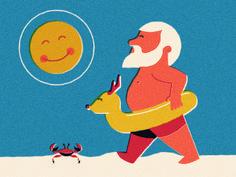 Summer Santa by R A D I O