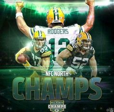 NFC North Champs - 2016 Yeah Baby Go Pack Go!