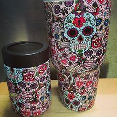 Skull YETI Cups I Loike It Pinterest Yeti Cup Cups And - Sugar skull yeti cup