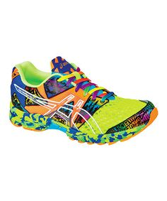 Flash Yellow & Flash Orange GEL®-Noosa Tri 8 Running Shoe - Men by ASICS on #zulily