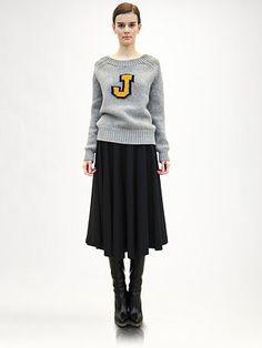 Inspiration:  Jil Sander - Signature Cashmere Sweater - Saks.com