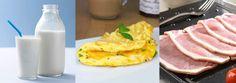 dukan diyeti atak evresi yağsız süt omlet pastırma