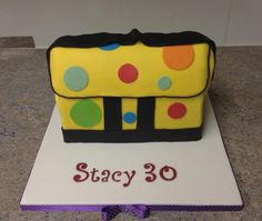 Mr Tumble's Spotty Bag - I have a tutorial for this on my facebook page https://www.facebook.com/media/set/?set=a.407263816027546.97578.340201292733799=3