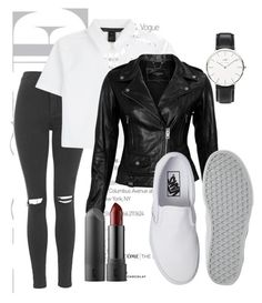 """""""Classy"""" by luvmysocks on Polyvore featuring Topshop, Marc by Marc Jacobs, VIPARO, Vans and Daniel Wellington"""