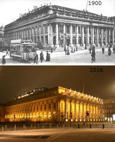 Bordeaux avant et après