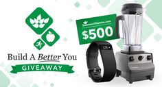 Win a Vitamix, Fitbit & $500 to SwansonVitamins.com!  https://wn.nr/zZyj2  Enter by 1/31/16  #contest #sweepstakes #giveaway