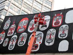 El artista urbano que revivió al Teatro Ofelia tendrá su expo personal   Garuyo.com