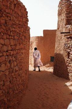 Photo taken in Old Town, Chinguetti, Mauritania