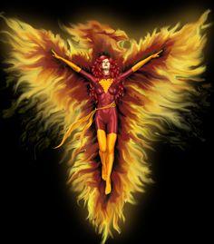 iPhone 4 case - Jean Grey from X Men comics - mutant superhero - Dark Phoenix in flames - ( iPhone iPhone Samsung Galaxy Jean Grey Phoenix, Dark Phoenix, Comic Books Art, Comic Art, Book Art, Girl Flower Tattoos, Ghost Rider Marvel, Digital Art Gallery, Jean Grey