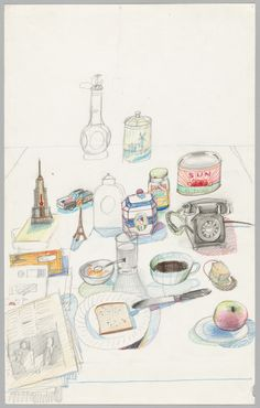 Saul Steinberg's View of the World | by Chris Ware | NYR Daily | The New York Review of Books