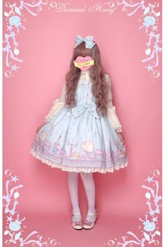 1a1c77d1910 Cheap Diamond Honey Mermaid Fresh Ocean Style Sweet Lolita JSK Dress sale  at Fashion Lolita Dresses   Clothing Shop