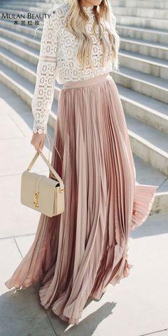 Maxi Skirt Outfits, Dress Skirt, Dress Up, Skirt Pleated, Dress Long, Flowy Skirt, Maxi Dresses, Icon Dress, Tulip Skirt