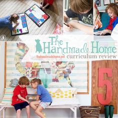 List of blog posts about homeschooling || thehandmadehome.net