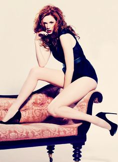 Amy Pond never looked like this... I'll miss her on Who!