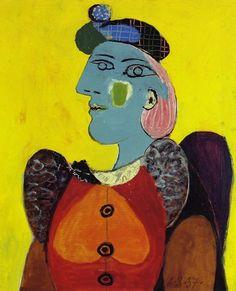 Pablo Picasso, 1937 Femme au béret et à la robe