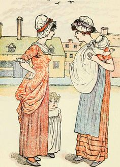 My mother, and your mother - Mother Goose or The Old Nursery Rhymes, 1881
