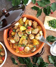 obiad , wieprzowina, danie jednogarnkowe , papryka , zacierki , smaczna pyza , gotowanie , smaczne jedzenie , domowe jedzenie , kulinaria