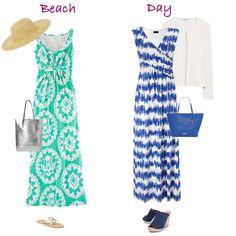 Summer Capsule Wardrobe Essential - Maxi Dresses