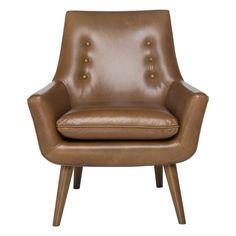 Retro Hazelnut Leg Chair #lovecominghome