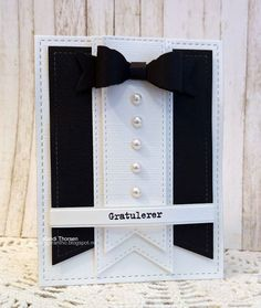 Enda et maskulint kort Diy Cards, Men's Cards, Paper Quilling Flowers, Best Boyfriend Gifts, Masculine Cards, Funny Cards, Card Tags, Easy Crafts, Decorative Items