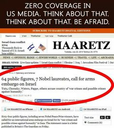 64 public figures call for arms embargo on Israel... ZERO MEDIA COVERAGE! Think about that!   #FreePalestine