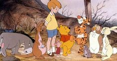 As a kid growing up I watched Winnie The Pooh every week. From Tigger to Piglet to Eeyore and Winnie The Disney Pixar, Arte Disney, Disney Villains, Disney Art, Disney Movies, Disney Quiz, Disney Winnie The Pooh, Winnie The Pooh Quotes, Eeyore