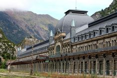 Canfranc Railway Station, Spain, August 2016