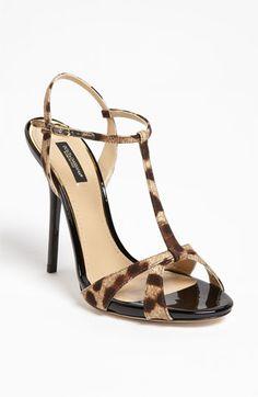 Dolce & Gabbana Leopard Print Sandal