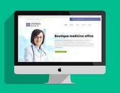 "Check out new work on my @Behance portfolio: ""LITVINOVA Medical PC, NY"" http://on.be.net/1M4fltt"