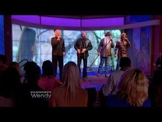 "Country music superstars, The Oak Ridge Boys perform their hit song, ""Elvira."" Then, Wendy Williams presents The Oak Ridge Boys with a plaque from the Record. Country Music Television, The Oak Ridge Boys, Name Songs, Country Artists, Elizabeth Taylor, Concert, Concerts"