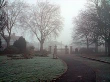 Downhills Park, West Green area of Haringey, London (pinned from Wikipedia)