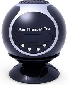 Go on a trip to space without leaving your living room! This home planetarium puts the stars within reach (and view). Click above to buy one--it's also a super-fun night light!