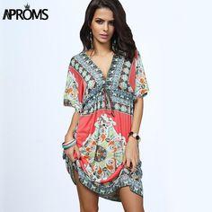 Boho Summer Women Dress. LOTS of sizes.