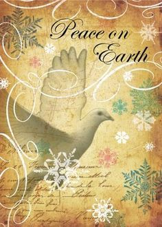 Holy Spirit Give Peace on Earth