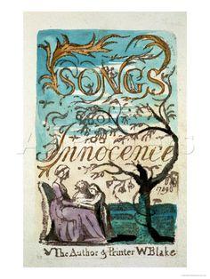 Songs of Innocence. William Blake