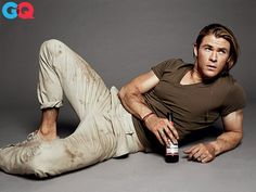 Check out this Interview in GQ with the buff actor Chris Hemsworth.