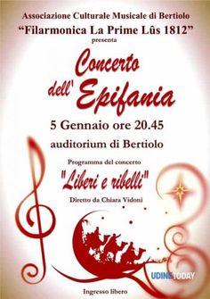 "Friuli #Venezia #Giulia: #Concerto dell'Epifania 2017 ""Liberi e ribelli"" (link: http://ift.tt/2hGl3YC )"