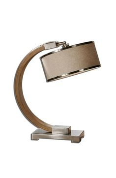 Uttermost+'Metauro'+Wood+Desk+Lamp+available+at+#Nordstrom