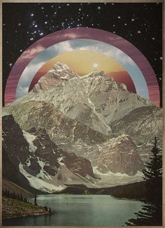 collage- creating landscapes