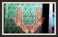 Mango design for silk saree