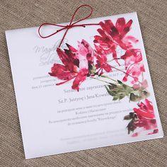 Zaproszenie ślubne na kalce 15x15 cm - glamour I | Zaproszenia Ślubne kolekcja kalka Zaproszenia Ślubne według rodzaju ręcznie robione Zaproszenia Ślubne według rodzaju oryginalne Zaproszenia Ślubne | studio Brzoza