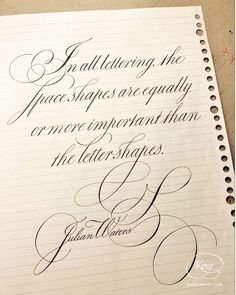 Julian Waters, English Roundhand, Copperplate, western calligraphy, spacing, flourishing, word group Calligraphy, English, Group, Lettering, English Language, Calligraphy Art, Hand Drawn Typography, Letter Writing