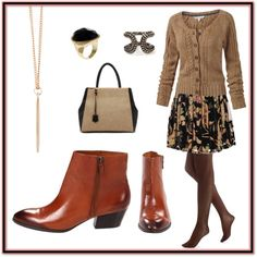"""""""Casual Thursday in my Franco Sarto Quiet Boots"""" by franco-sarto on Polyvore"""