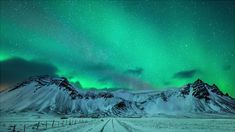 Spectacular and Mesmerizing Aurora Borealis Over Two Lands- Greenland And Iceland