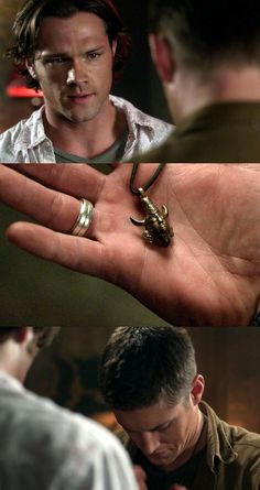 """You probably want this back."" - 4x01 Lazarus Rising"