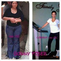 """Maria's newest pics!  Here's what she said: """"I just want people to see and know that it is possible to lose weight because it really sucks feeling overweight and depressed and thanks to this I'm a new person I go out with confidence thank you. I use skinny fiber and work out!""""  Try All Natural Skinny Fiber Here!!  www.skinnymizfitz.SBC90.com"""