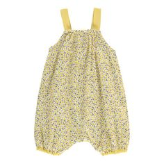 Lemon Liberty Romper De Cavana Baby- A large selection of Fashion on Smallable, the Family Concept Store - More than 600 brands. Kids Clothing Brands, Baby Girl Fashion, Baby Wearing, Fashion Brands, Liberty, Kids Outfits, Lemon, Rompers, Corporate Events